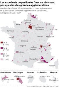 Pollution particules fines en France